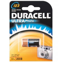 Duracell CR123A 1-BL Ultra Lithium 3V pile non-rechargeable