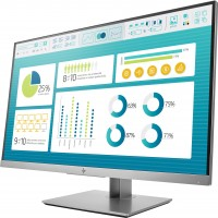 "HP EliteDisplay E273 68,6 cm (27"") 1920 x 1080 pixels Full HD LED Noir, Argent"